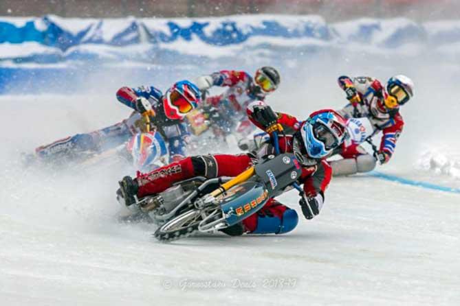 В Тольятти прошел первый финал Личного чемпионата России по мотогонкам на льду