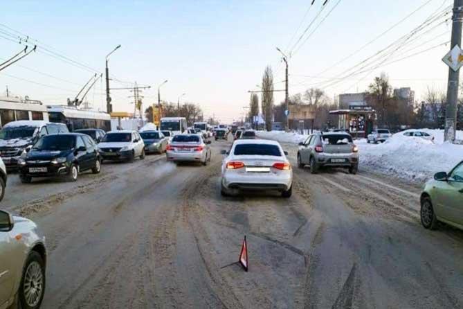 В ДТП трех автомобилей на Автозаводском шоссе пострадал восьмилетний мальчик