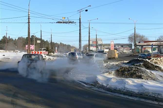 В Тольятти в среднем 2 рубля 80 копеек на квадратный метр дороги