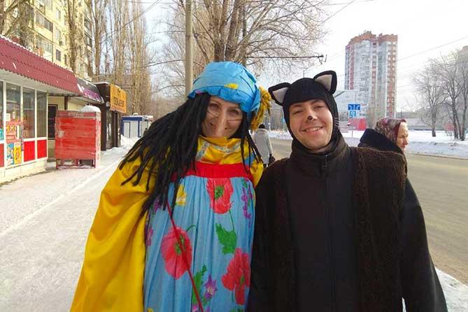В Тольятти на «Чудо-маршрут» вышли сказочные герои
