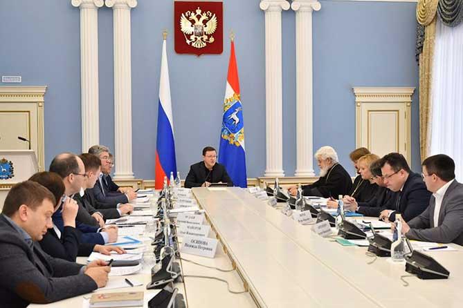 Губернатор встретился с Митрополитом Самарским и Тольяттинским Сергием