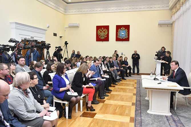 Дмитрий Азаров рассказал об итогах развития региона в 2018 году и перспективах на будущее
