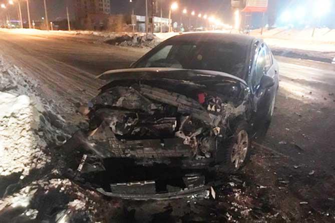 В ДТП на Обводном шоссе 23 января 2019 года пострадали три человека