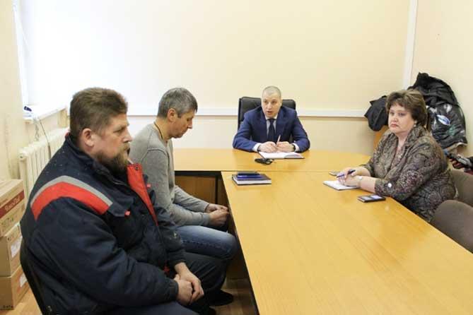совещание с директором ООО «Тольяттинский кирпич» 16-01-2019