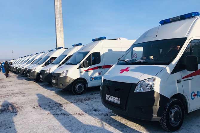 Тольятти получил шесть новых автомобилей «Скорой помощи»