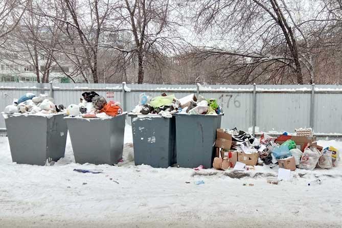 В администрацию Тольятти поступают обращения граждан, связанные с вывозом мусора