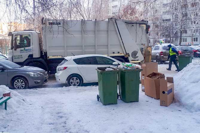 Плата за вывоз мусора в городе – с одного квадратного метра, в муниципальном районе – с одного человека