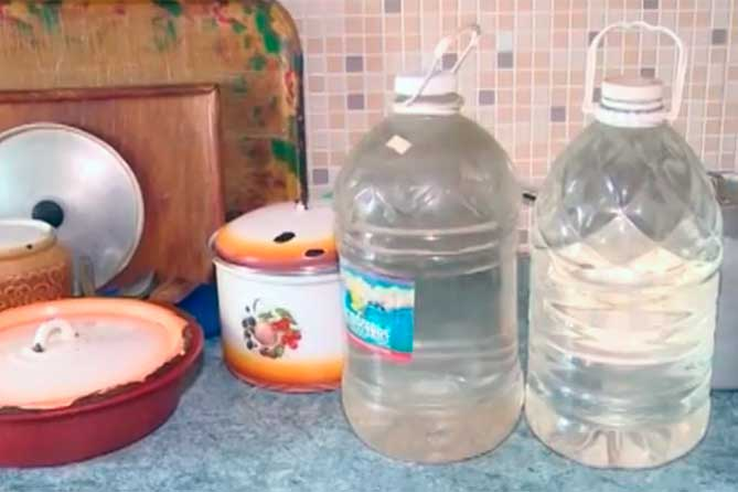 Жителям Тольятти на улице Баныкина рекомендуют запастись водой