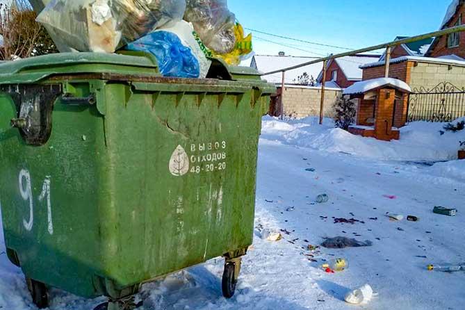 Люди сейчас еще считают, что если они мусор не выбрасывают, то они не будут и платить за него