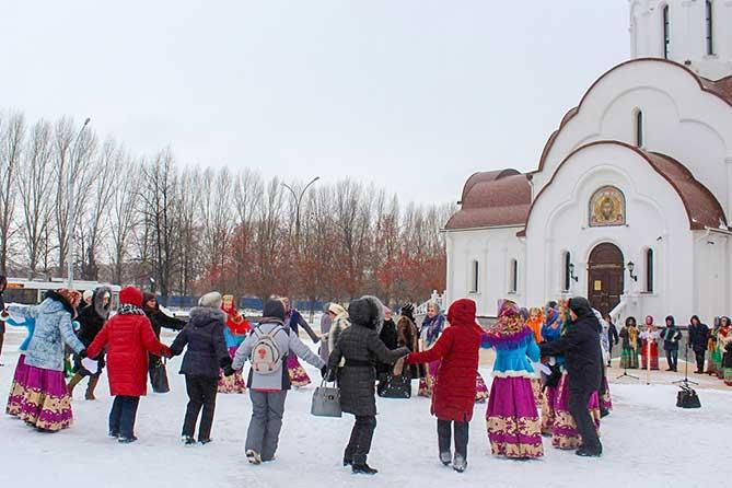 Рождество в Тольятти 7 января 2019 года: Концертная программа с играми, забавами, песнями, танцами и хороводами