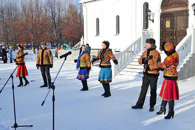 В Тольятти состоялся праздник «Мы встречаем Рождество»