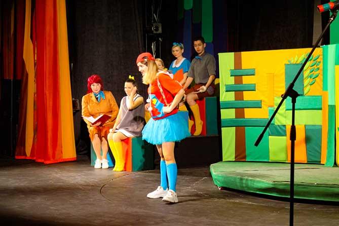 В театре «Дилижанс» состоялся праздник в день открытия зрительного зала после капитального ремонта