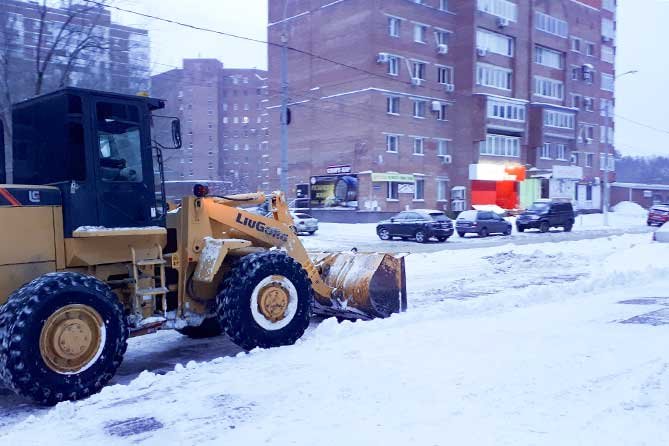 В Тольятти ведется ежедневный контроль за очисткой городских магистралей
