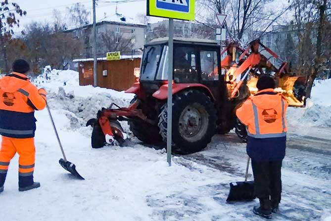 В Тольятти 25 января 2019 года на магистральных дорогах будет работать 61 спецмашина