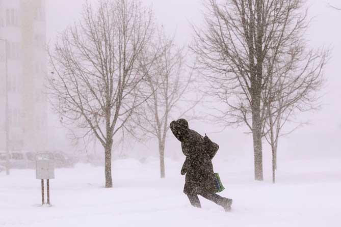 Погода в Тольятти с 12 по 14 января 2019 года