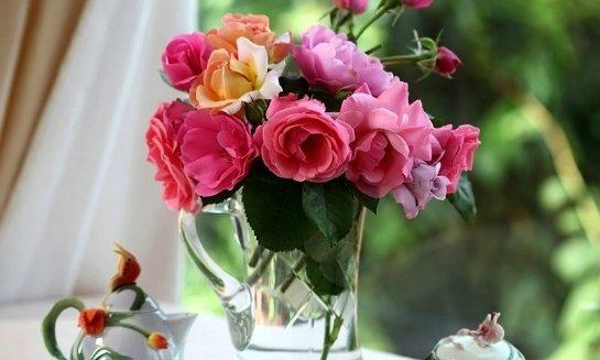 Основные советы по составлению букета для вазы