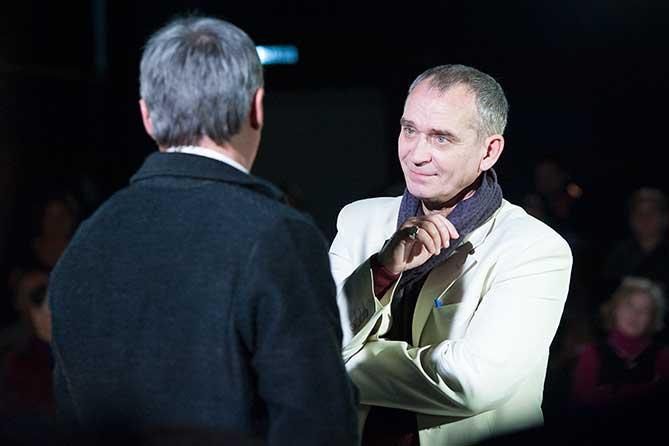 В театре «Колесо» прошла премьера спектакля «Пародист»