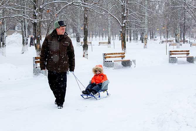 Погода в Тольятти с 23 по 25 февраля 2019 года