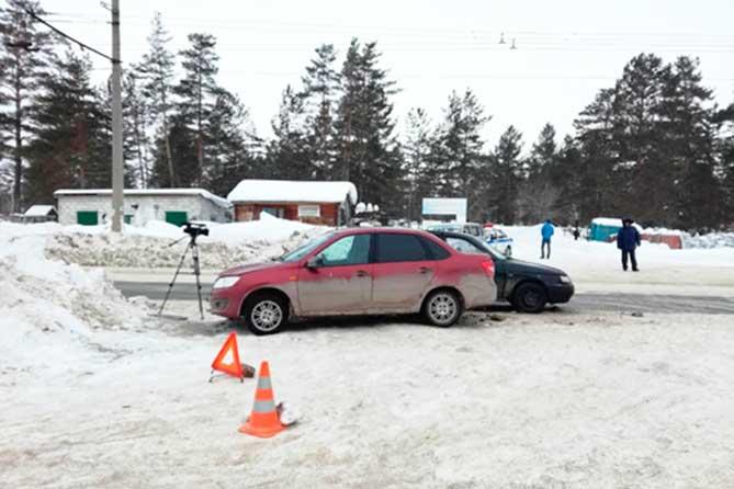 ДТП на Поволжском шоссе: В больницу госпитализирована женщина-пассажир автомобиля