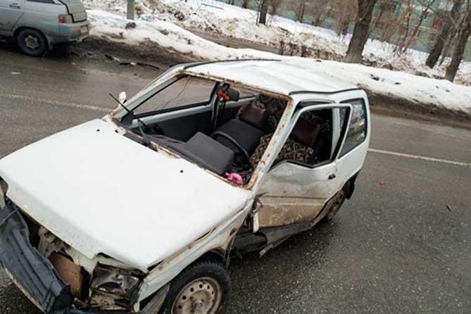 В ДТП на улице Кирова пострадала водитель «Оки»: Госпитализирована в больницу