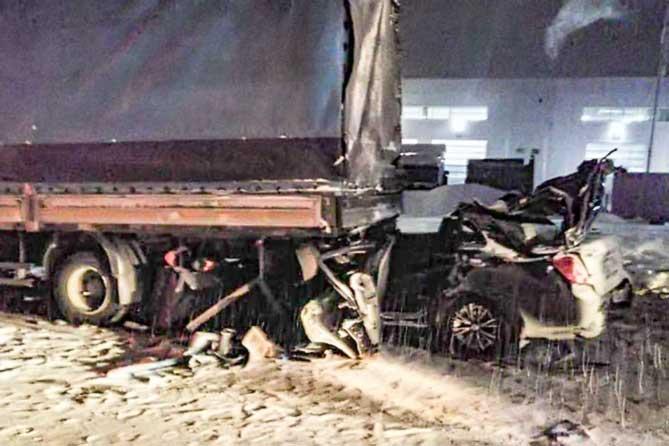 Четыре жителя Самарской области, в том числе 11-летний ребенок, скончались на месте ДТП