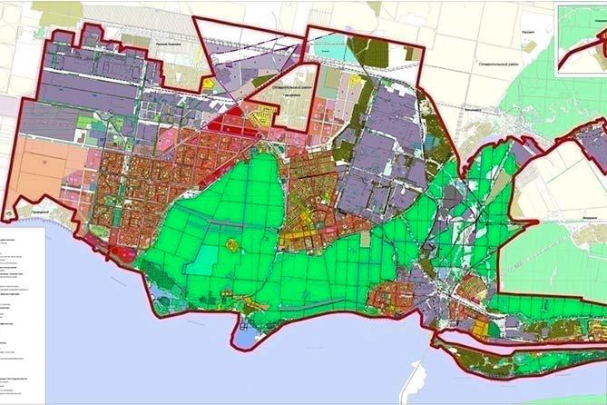 Это даже не смешно: Генеральный план развития города