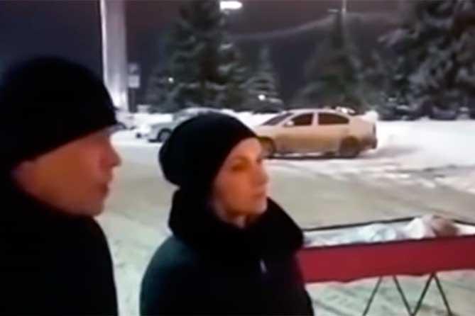 Проверка по факту появления гроба с телом мужчины у здания правительства Самарской области
