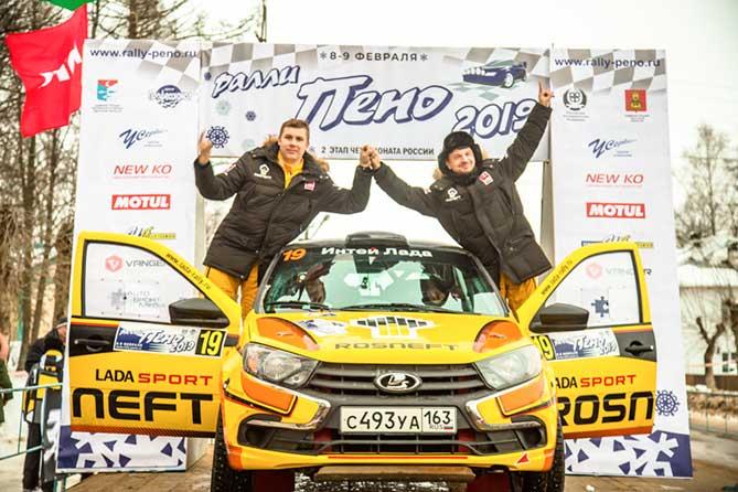 LADA Sport ROSNEFT: Первый финиш в призах