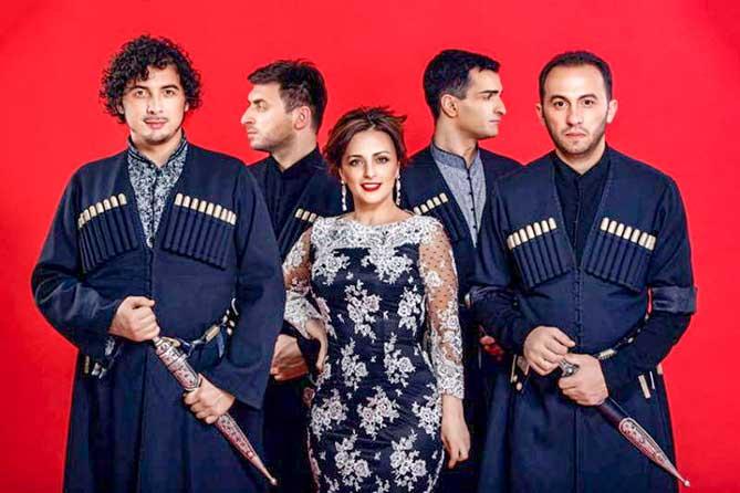 Со сцены Тольяттинской филармонии 22 февраля 2019 года вновь зазвучат грузинские песни