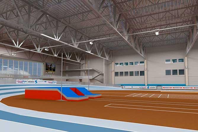 Тольятти получит федеральные средства на строительство легкоатлетического манежа