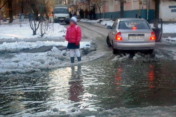 В Тольятти ведется работа по подготовке сетей ливневой канализации к весенне-летнему периоду