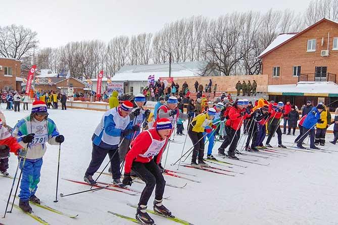 В соревнованиях «Лыжня России-2019» в Тольятти приняли участие более шести тысяч человек