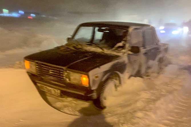 В администрации рассказали, почему на автодороге «Приморский-Подстепки» случился транспортный коллапс