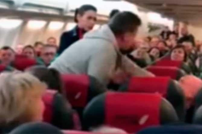 Был задержан рейс в аэропорту Курумоч из-за пассажира-нарушителя