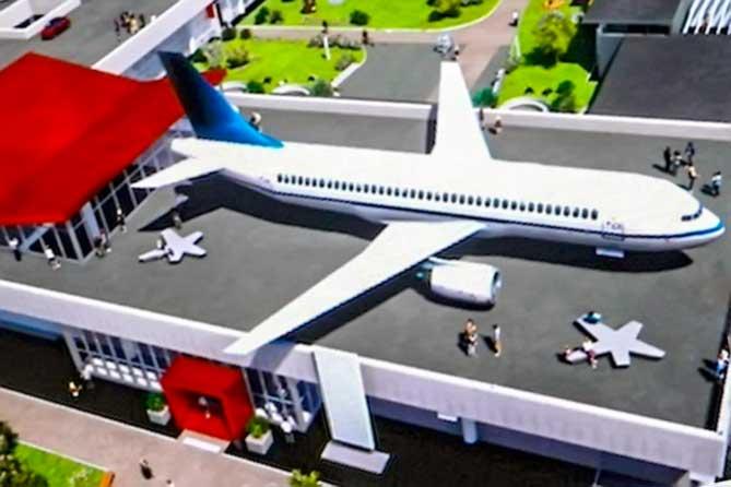 Самолет на крыше: Наталья Немых представила план реконструкции ДКИТ