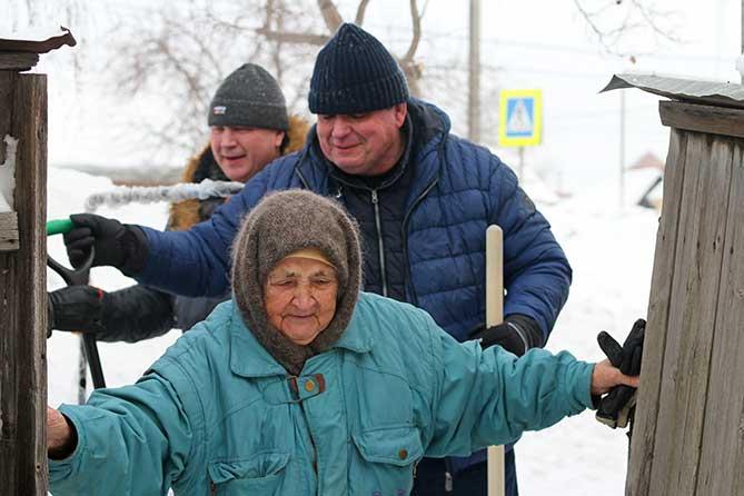 Субботник в Тольятти 9 февраля 2019 года