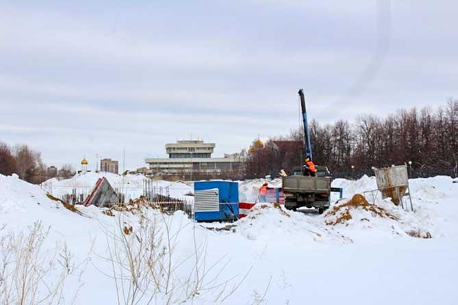 В Тольятти строительство сквера в честь 50-летия АВТОВАЗа идет в соответствии с графиком