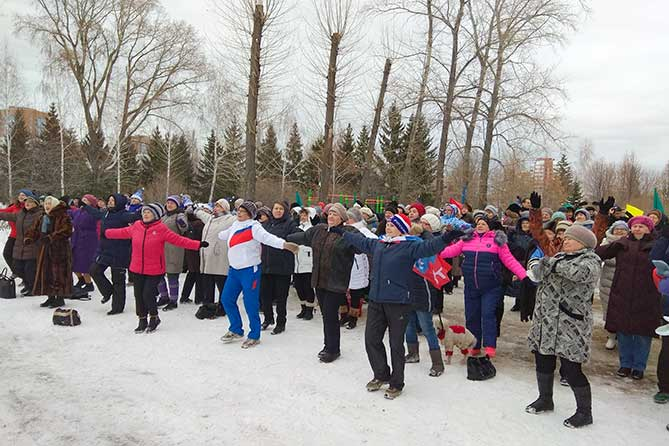 Тольяттинцев приглашают на зарядку 15 февраля 2019 года