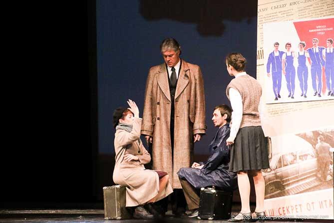 Спектакль «Колеса»: Судьбы и события, которыми жил АВТОВАЗ в разные годы своей большой истории