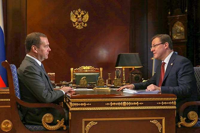 Дмитрий Медведев и Дмитрий Азаров обсудили вопросы поддержки ПАО «АвтоВАЗ»