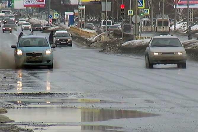 В Тольятти переход через ноль среднесуточной температуры ожидается позже 28 марта 2019 года