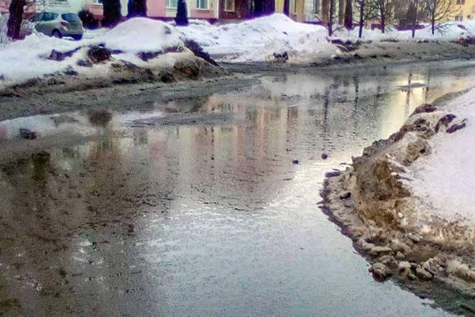 Весна нас ожидает «влажная»: Судя по количеству снега в Тольятти