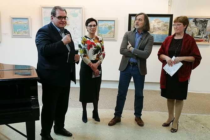 Никас Сафронов: Персональная выставка в Тольятти 2019