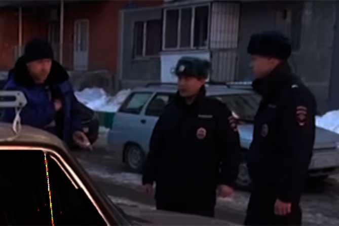 Житель Тольятти с гаечным ключом ночью был задержан в Автозаводском районе