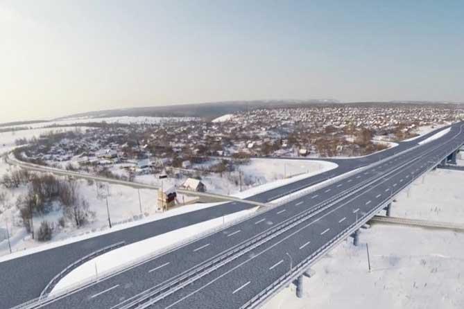 В 2019 году на трассе М-5 под Тольятти начнется строительство путепровода через железную дорогу