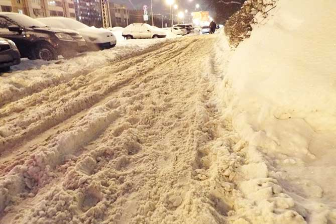 Глава города резко высказался по поводу очистки от снега дворовых территорий