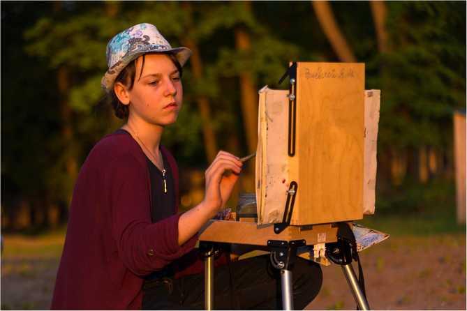 Художников и учащихся художественных школ приглашают принять участие в конкурсе «Химия в красках»