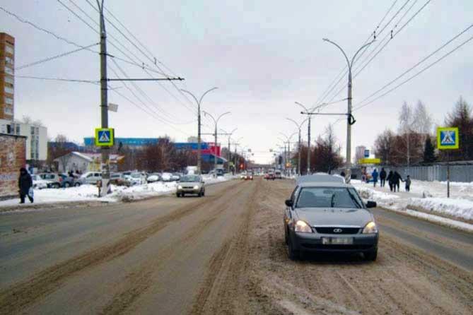 В Тольятти на улице Революционной планируют организовать двухстороннее движение
