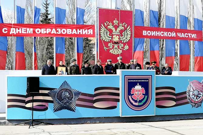 В Тольятти бойцы спецназа и разведчики отметили юбилей воинского соединения