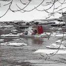 Под Тольятти в заливе Волги ребенок оказался в смертельно опасной ситуации